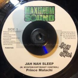 """Maximum Sound-7""""-Jah Nah..."""