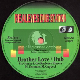 "Realeyes Dub Station-10""-Stand Tall/Sis Gloria & Bro Tom+Brother Love/Sis Gloria"