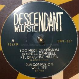 """Descendant Music-10""""-Too..."""