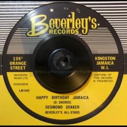 """Beverley's Records-7""""-HAPPY..."""