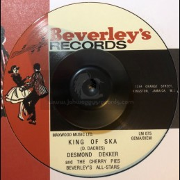 """Beverley's Records-7""""-KING..."""