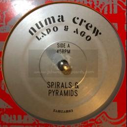 """Zamzam Sounds-7""""-Spirals &..."""