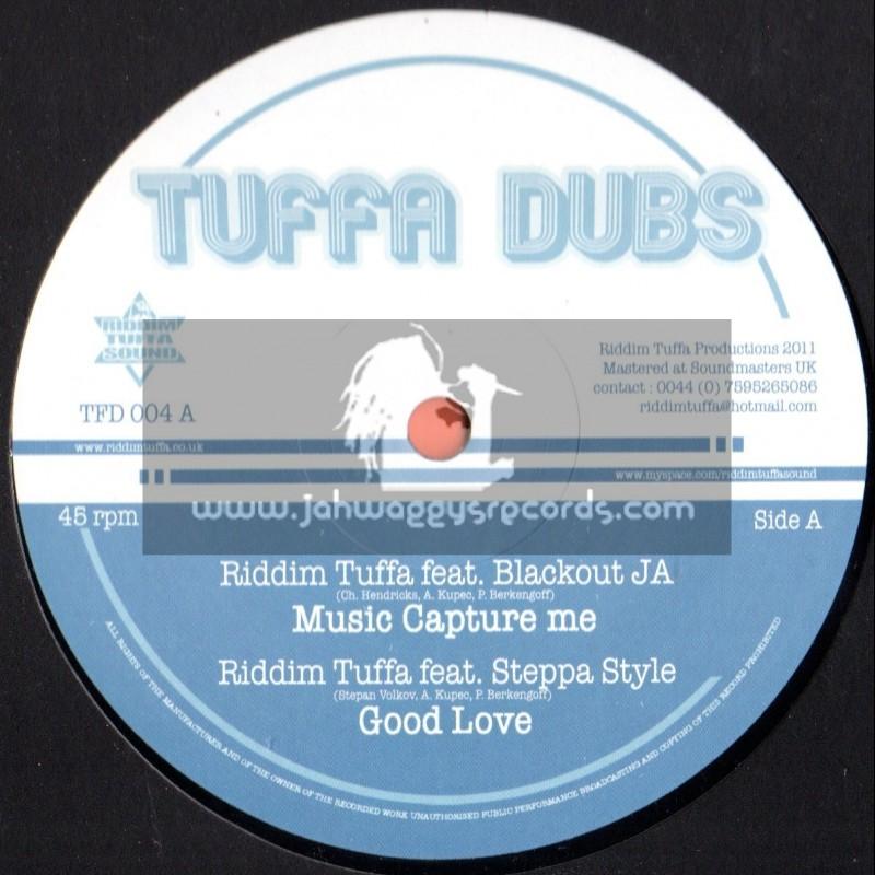 "Tuffa Dubs-12""-Music Capture Me Feat Blackout Ja & Gosple Fish (Nice Time Riddim)"