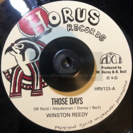 "Horus Records-7""-Those Days..."