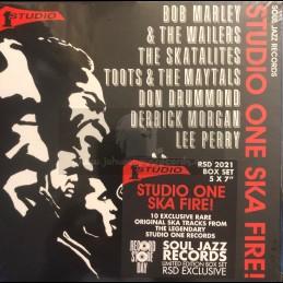 """Soul Jazz-Studio One-7"""" Box..."""