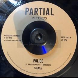 "Partial Records-7""-Police /..."