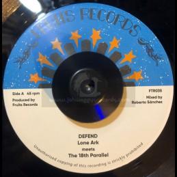 "Fruits Records-7""-Defend /..."