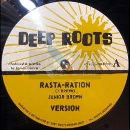 "Deep Roots-12""-Rasta-Ration..."