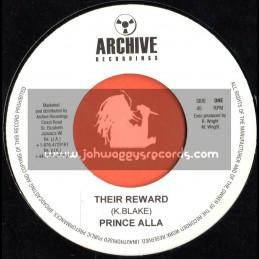 "Archive Recordings-7""-Their Reward / Prince Alla"