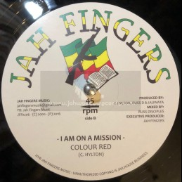 "Jah Fingers Music-12""-I Am..."