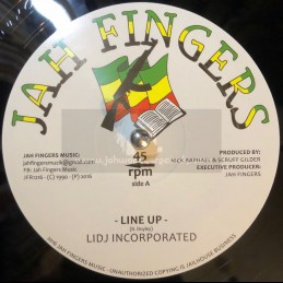 """Jah Fingers Music-12""""-Line..."""