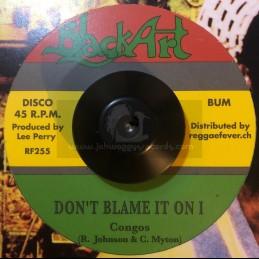 """Black Art-7""""-Don't Blame It..."""