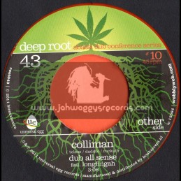 "Deep Root-7""-Colliman / Dub All sense Feat Longfish(Abassi Dub Conference Series)"