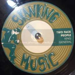 """Skanking Music-7""""-Two Faced..."""