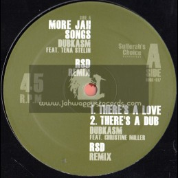 """Sufferahs Choice Recordings-12""""-More Jah Songs/Tena Stelin + There Is A Love/Christine Miller (RSD REMIXES)"""