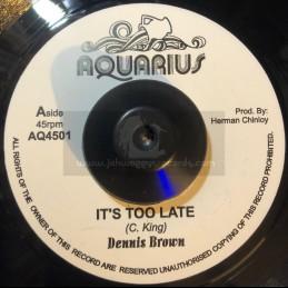 """Aquarius-7""""-It's Too Late /..."""