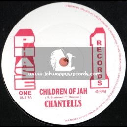 """Phase 1 Records-12""""-Children Of Jah + Desperate Times / Chantells"""