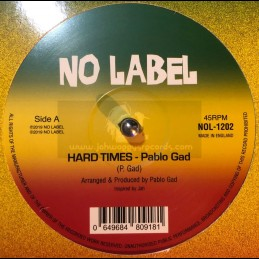 "No Label-12""-Hard Times /..."
