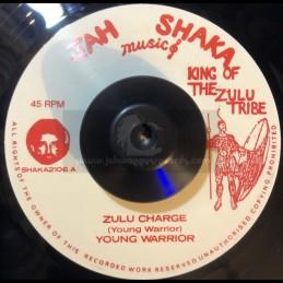 """Jah Shaka Music-7""""-Zulu..."""
