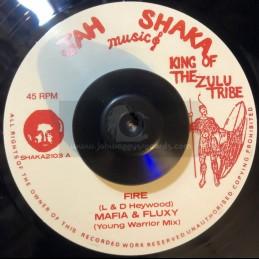 "Jah Shaka Music-7""-Fire /..."