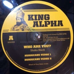 """King Alpha-12""""-Who Are You..."""