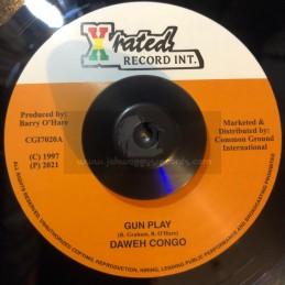 "X-Rated Record Int-7""-Gun..."
