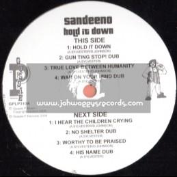 "Sip A Cup Showcase Vol-10-12""-Hold It Down / Sandeeno"