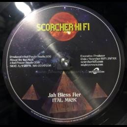 "Scorcher Hi Fi-7""-Jah Bless..."