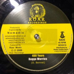 """Roar Recordings-10""""-400..."""
