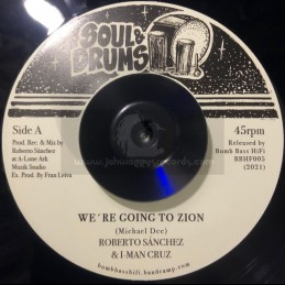 """Soul & Drums-7""""-We're Going..."""
