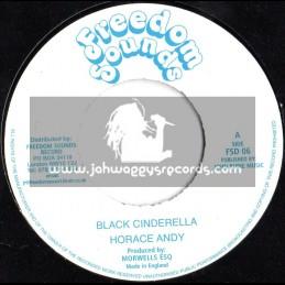 "Freedom Sounds-7""-Black Cinderella"