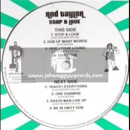 """Sip A Cup Showcase Vol-12-12""""-Stop & Look / Rod Taylor"""