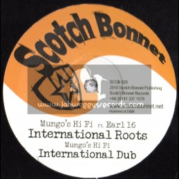 "Scotch Bonnet-12""-International Roots / Earl 16 + Scream / YT + Buffalo Soldier / Black Warrior"
