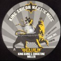 "King Shiloh Majestic Music-12""-Rasta Live On / King Kong & Christine Miller + Bless / Danny Red"