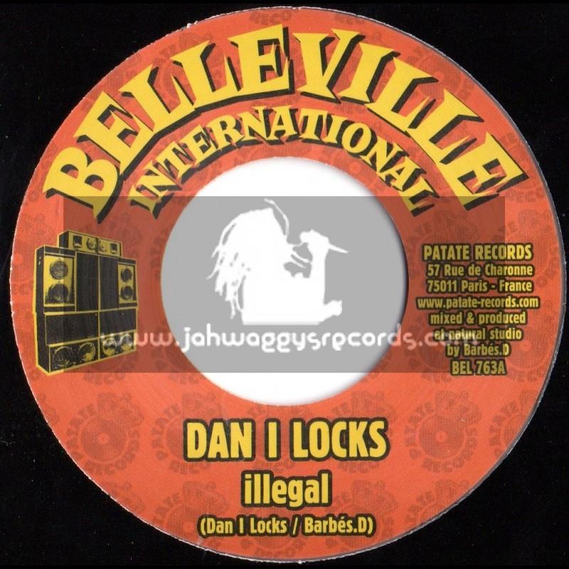 """Belleville Records Inernational-7""""-Illegal / Dan I Locks"""