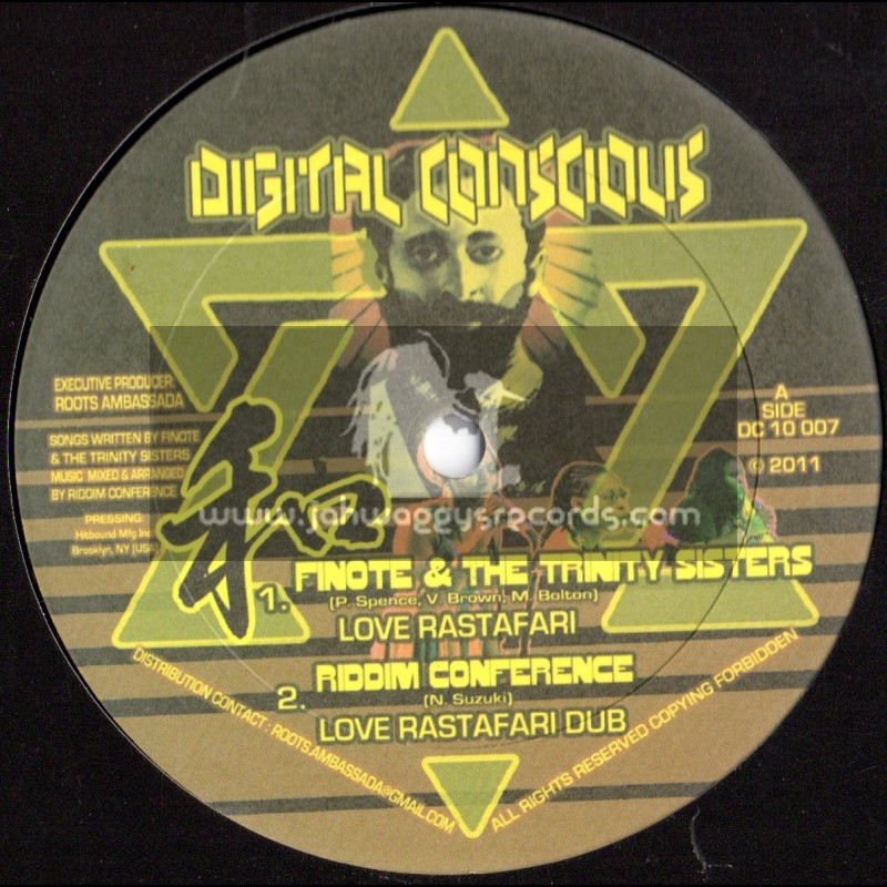 "Digital Concious-10""-Love Rastafari/Finote & The Trinity Sisters + Ital Missile/Riddim Conference(Japan)"
