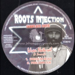 """Roots Injection-10""""-Freedom Road + Keep Them Both Together / Idren Natural"""