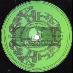 "Roots Hi Tek-10""-Spritual Kinsman / Tena Stelin + Mogadishu Dub / Roots Hi Tek"