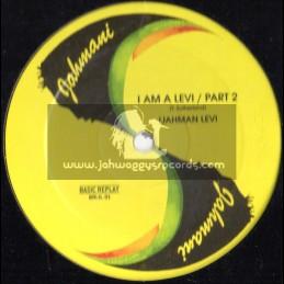 """Jahmani-12""""-I Am A Levi / Ijahman Levi"""