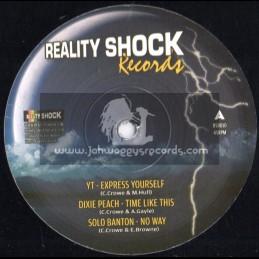 "Reality Shock Records-12""-Featuring-Dixie Peach-YT-Solo Banton-Deadly Hunta & Valorous (Killa)"