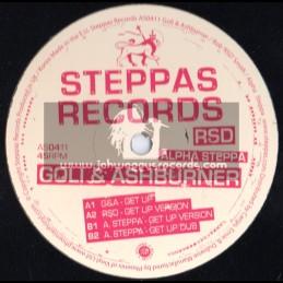 "Steppas Records-12""-Get Up / Goli & Ashbuner (Alpha Steppa & RSD)"