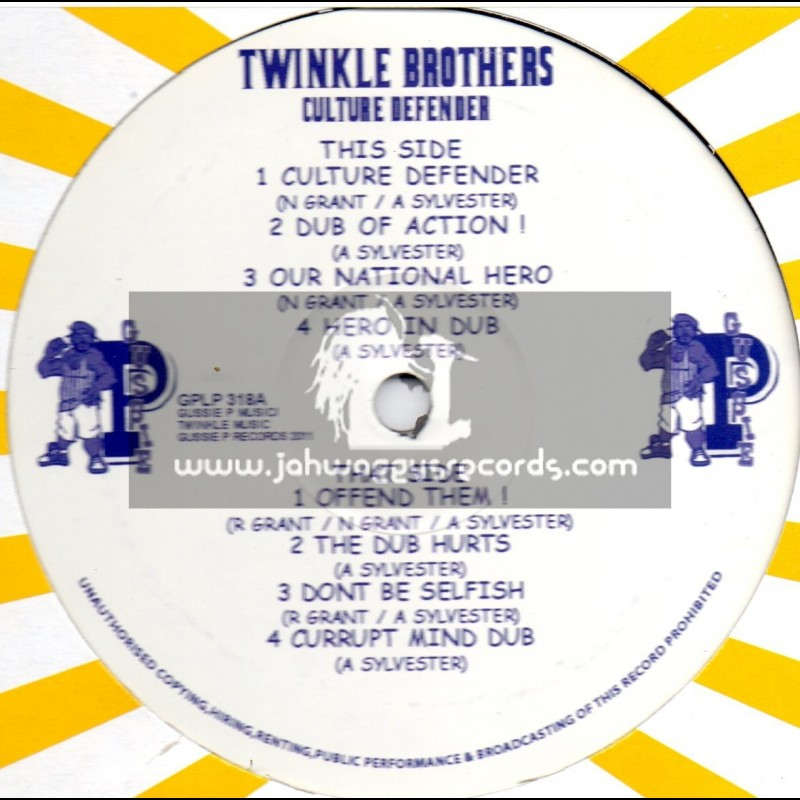 """Sip A Cup Showcase Vol-18-12""""-Culture Defender / Twinkle Brothers"""