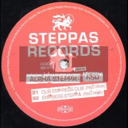 "STEPPAS RECORDS-12""-ALPHA STEPPA MEETS RSD / DUB EMPRESS"