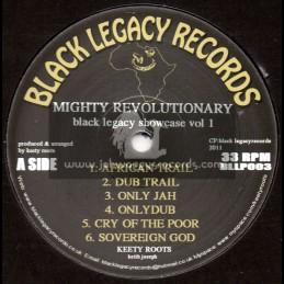 Black Legacy Records-Lp-Mighty Revolutionary / Keety Roots (Black Legacy Showcase Vol-1)