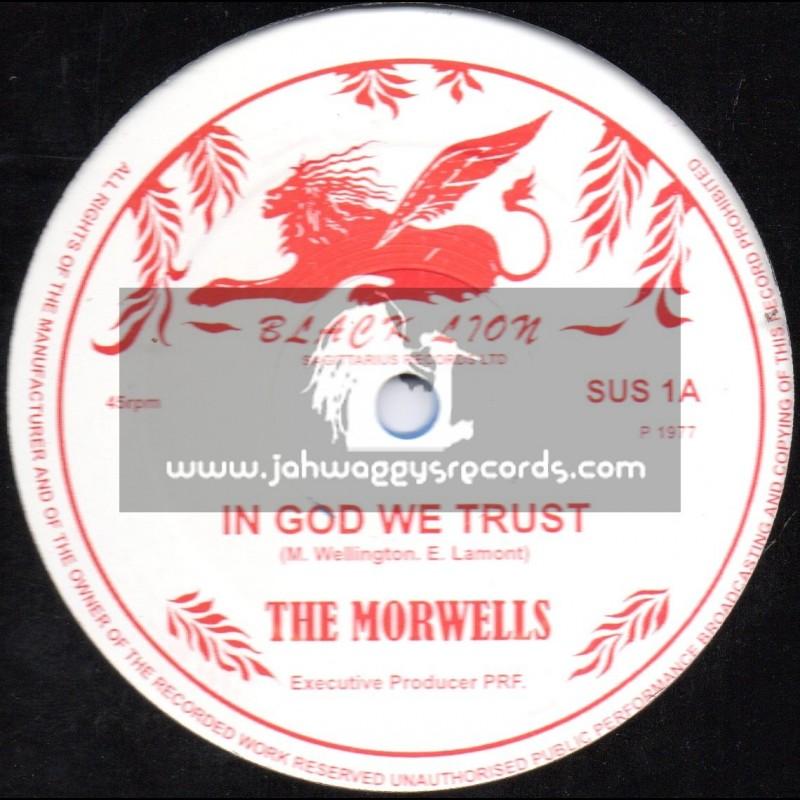 "Black Lion-12""-In God We Trust / The Morwells + Wonderfull World / Mike Brooks"