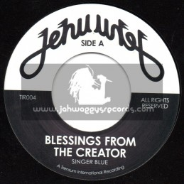 "Jehu-7""-Blessings From The Creator / Singer Blue"