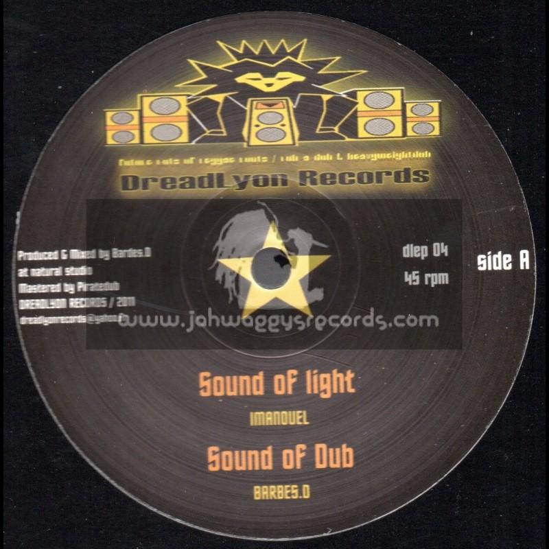 "Dreadlyon Records-10""-Sound Of Light + Jump Around / Imanouel (Barbes.D)"