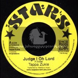 """Stars-7""""-Judge I Oh Lord / Tappa Zukie"""