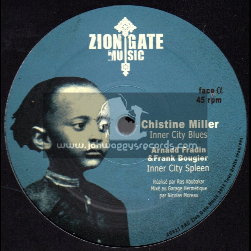 "Zion Gate Music-12""-Inner City Blues / Christine Miller"