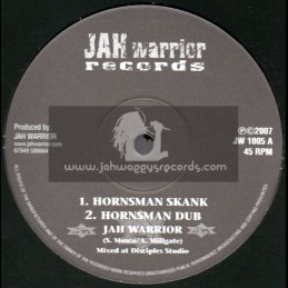 "Jah Warrior Records(2007)-10""-Hornsman Skank + Zion Meditation"